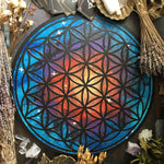 Crystal Grid Flower Of Life, Flower Pythagoras - Space