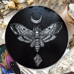 Death Head Moth - Altar Pentacle - Black\Silver