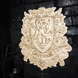Decor - Wooden Emblem - Gryffindor