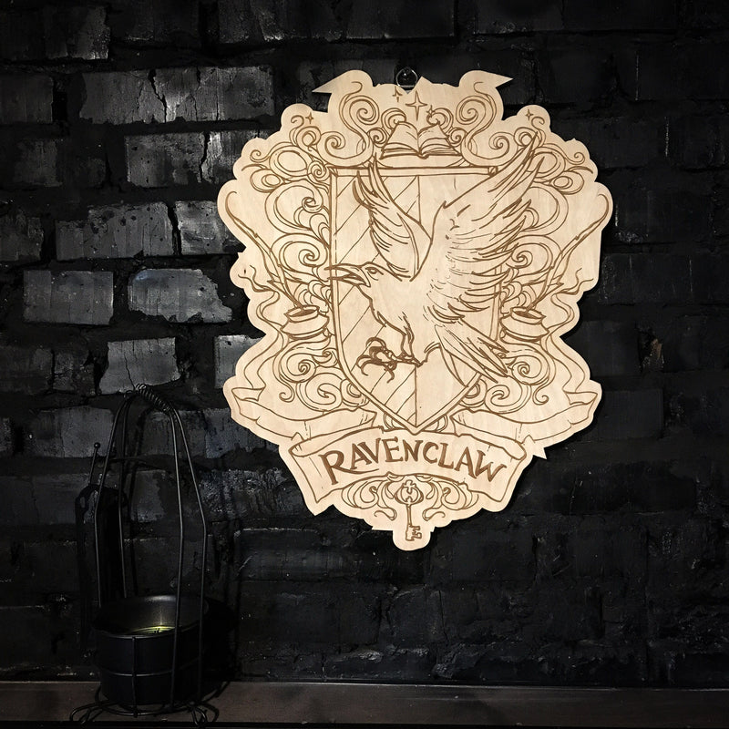 Decor - Wooden Emblem - Ravenclaw