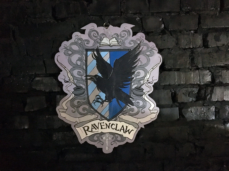 Decor - Wooden Emblem - Ravenclaw - Color