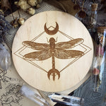 Dragonfly - Altar Pentacle - Natural