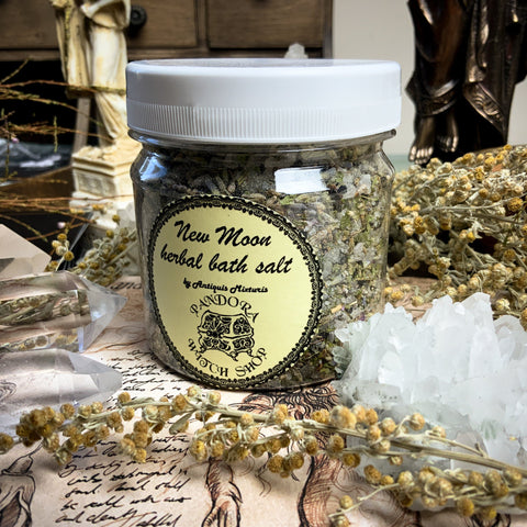 Herbal Bath Salt - New Moon Herbal Bath Salt