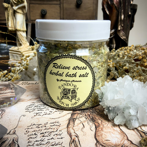 Herbal Bath Salt - Relive Stress Herbal Bath Salt
