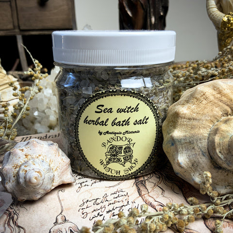 Herbal Bath Salt - Sea Witch Herbal Bath Salt