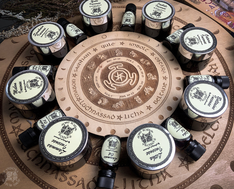 Incense - Wheel of the Year - Imbolc