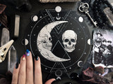 Moon Skull - Altar Pentacle - Black\Silver