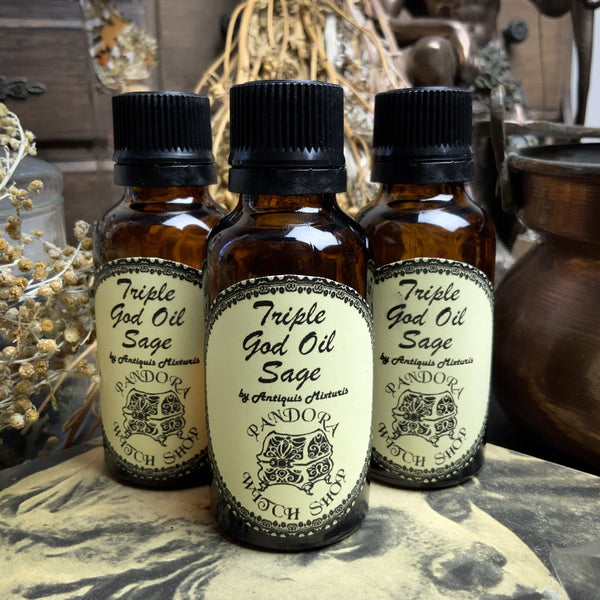 Triple God Oil - Sage