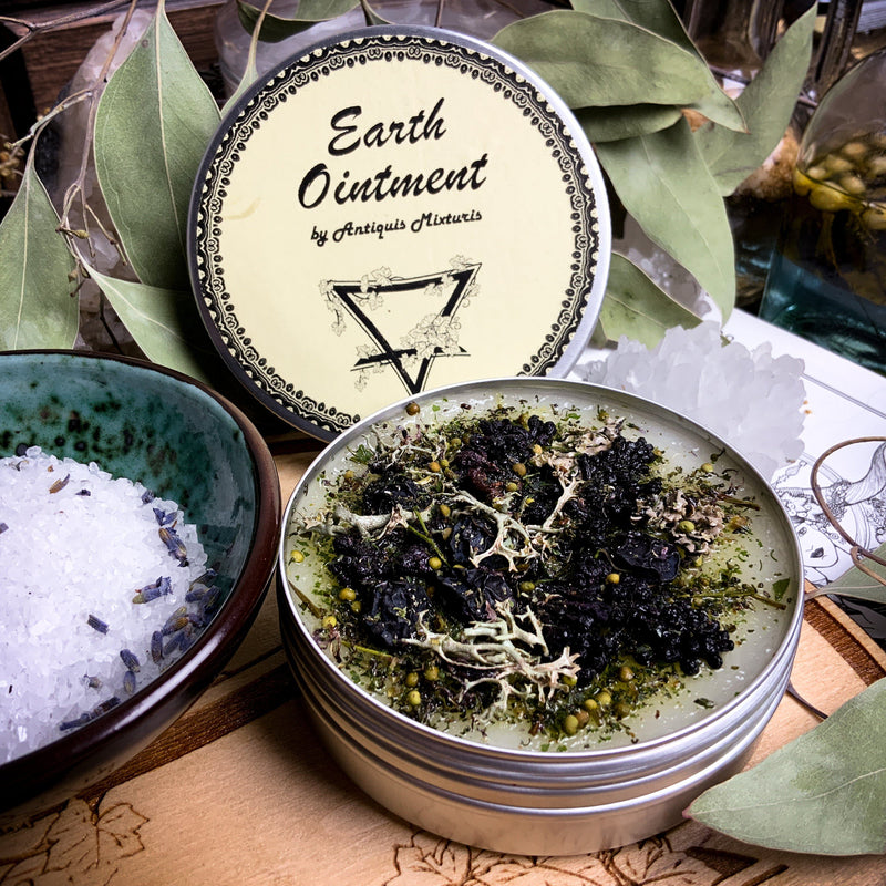 Ointment - Earth Ointment - Elemental Magic