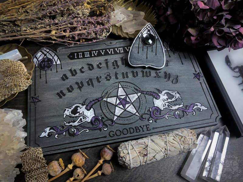 Ouija Board - Darker Ages Gray and Orchid