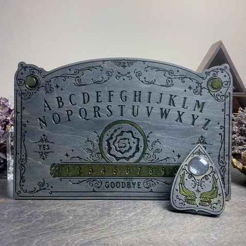 Ouija Board - Oracles Orb Gray And Malachite