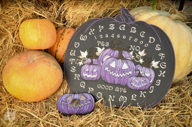 Ouija Board - Pumpkin Mood - Black