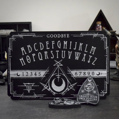 Ouija Board - Witchcraft Cult Silver