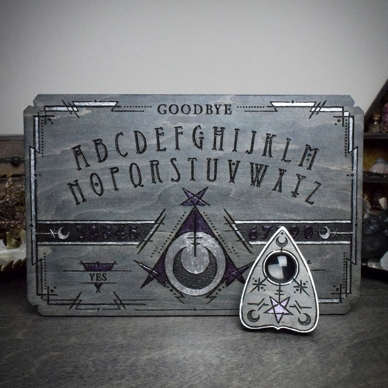 Ouija Board - Witchcraft Cult Gray