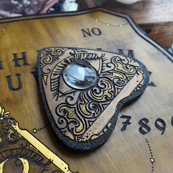 Ouija Planchette - Planchette - Golden All Seeing Eye