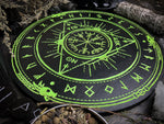 Pendulum Board - Runic Glows In The Dark