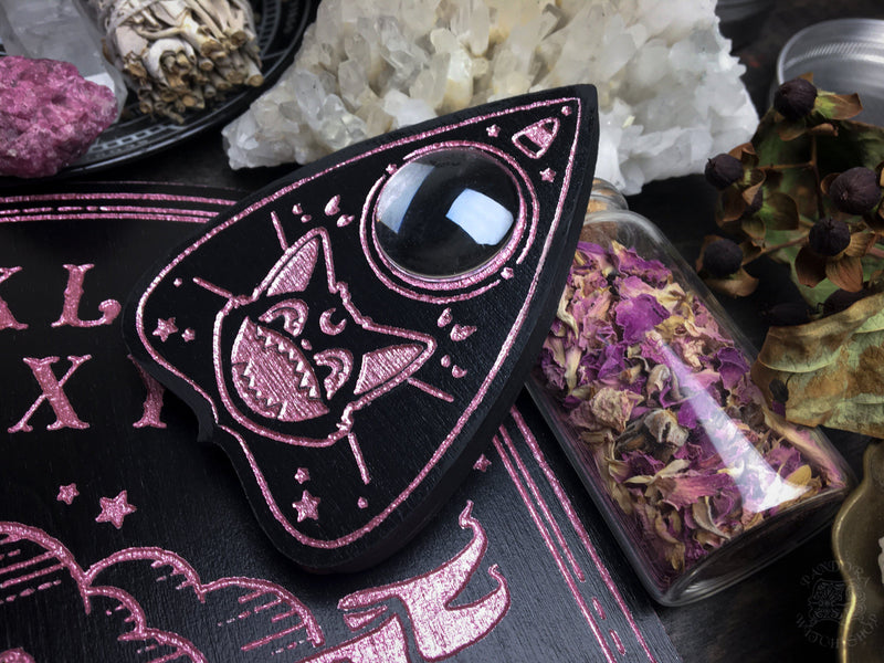 Planchette - Halloween Scream Pink Bone