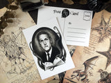 Postcard - Postcard H. P. Lovecraft - Black / White