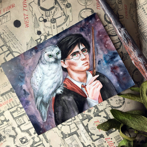 "Postcard - Postcard ""Harry Potter"""
