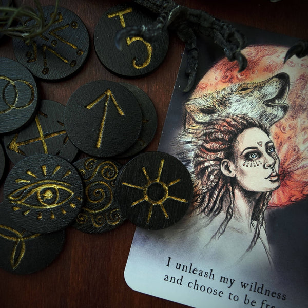Rune - Witch Runes, Black Wood - 13