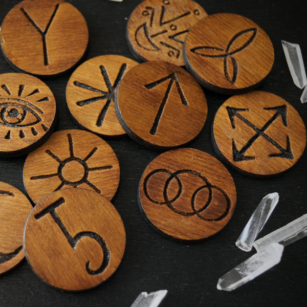 Rune - Witch Runes, Dark Wood - 13