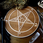 Samael - Altar Pentacle - Natural