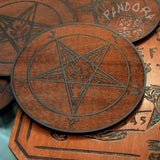 Samael - Altar Pentacle - Red\Black