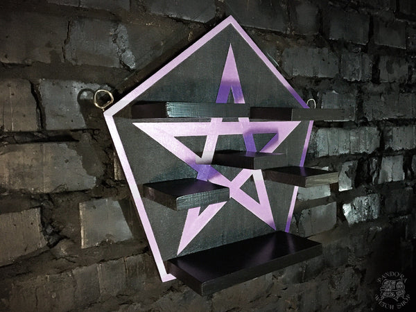 "Shelf ""Pentagram"""