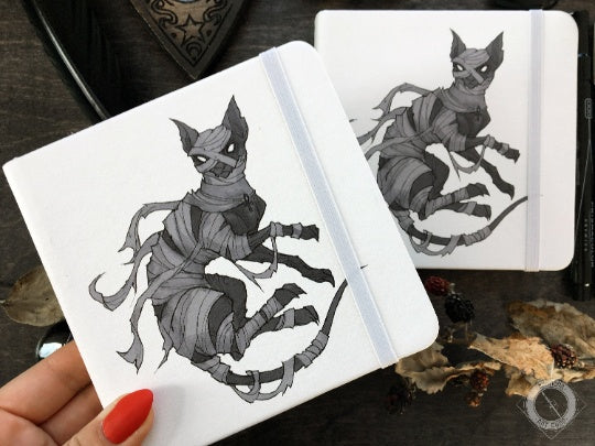 Sketchbook - Sketchbook - Mummy Cat