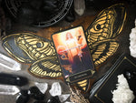 Tarot Spread Board - Tarot Board Card Of The Day - GOLDEN DEATH'S HEAD MOTH