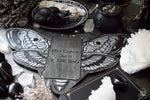 Tarot Spread Board - Tarot Board Card Of The Day - GRAY DEATH'S HEAD MOTH