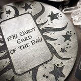 Tarot Spread Board - Tarot Board Card Of The Day - Gray Wood
