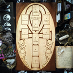 Tarot Spread Board - Tarot Spread Board Ankh II - Natural