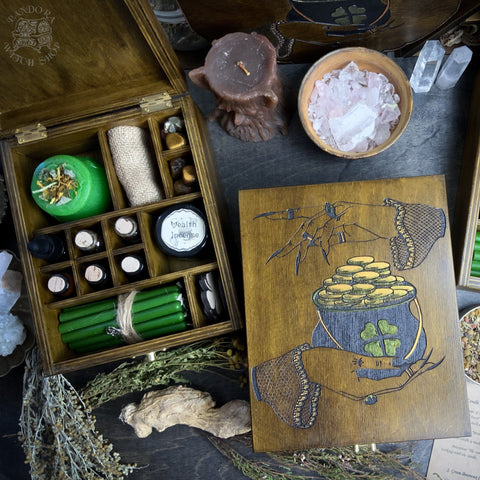 Wealth Spell - Witch Box Set