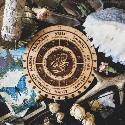 "Wheel Of The Year - Wheel Of The Year ""Zodiac"" - Natural"