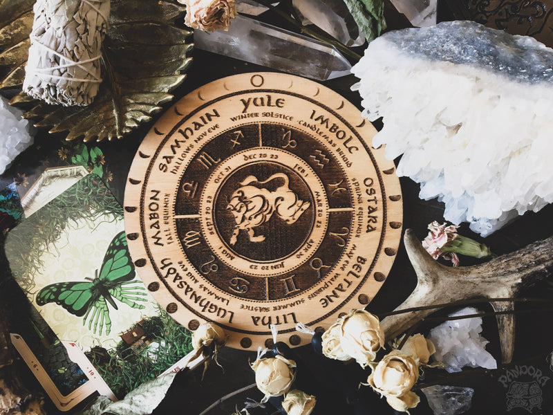 "Wheel of the Year ""Zodiac"" - Natural"