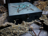 Wooden Box - Box - Snake Pentagram