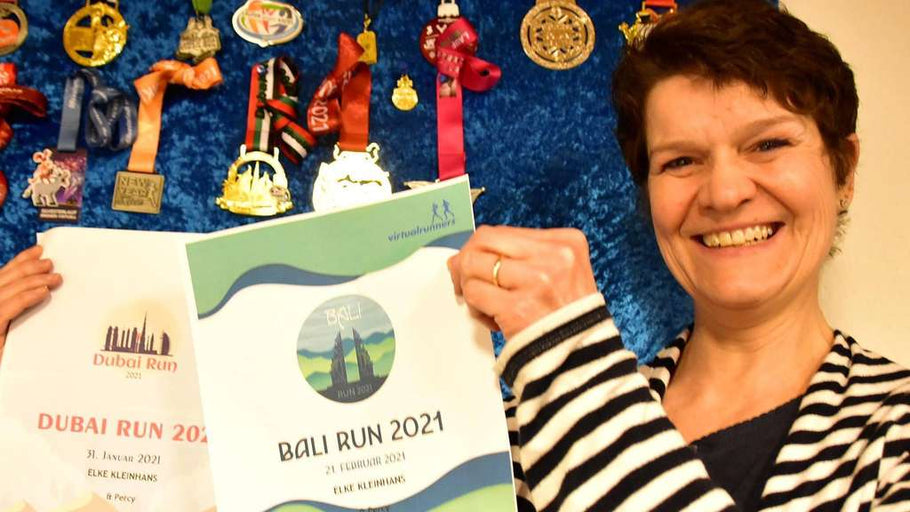 Running against cancer: Elke Kleinhans and her virtual runs