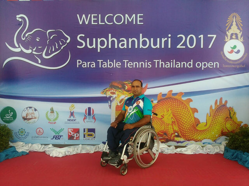 5 Empowering Questions about Para Table Tennis to Sonu Gupta from India