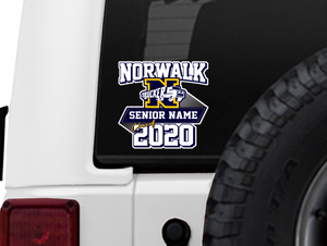Senior Strong Vehicle Window Decal