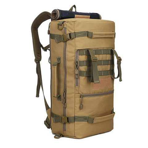 LOCAL LION 50L Military Tactical Backpack Hiking Camping Daypack Shoulder Bag Men's hiking Rucksack back pack mochila feminina