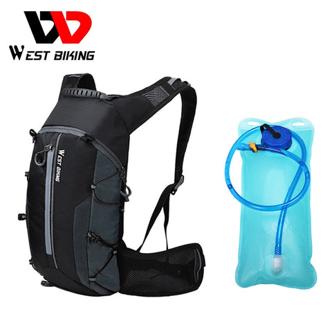WEST BIKING 10L Sport Backpacks Foldable Bike Bag Travel Mountaineering Bag Women Men Back Pack Hold Water Cycling Bicycle Bag