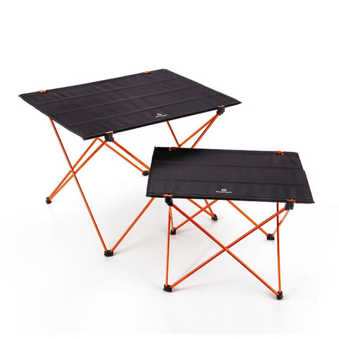 Portable Foldable Folding Table 4 to 6 People Desk Camping BBQ Hiking Traveling Outdoor Picnic 7075 Aluminium Alloy Ultra-light