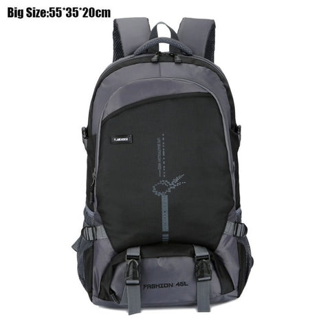 Men's Hiking Backpack For Climbing Unisex Nylon Outdoor Sports Bags Hiking Woman Waterproof Laptop Back Pack Teenager School Bag
