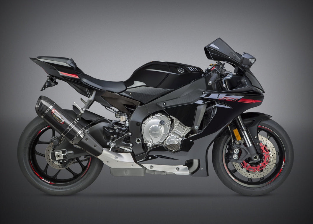 Yoshimura exhaust  YZF-R1/M/S 2015-19  Signature ALPHA SO SS-CF-CF