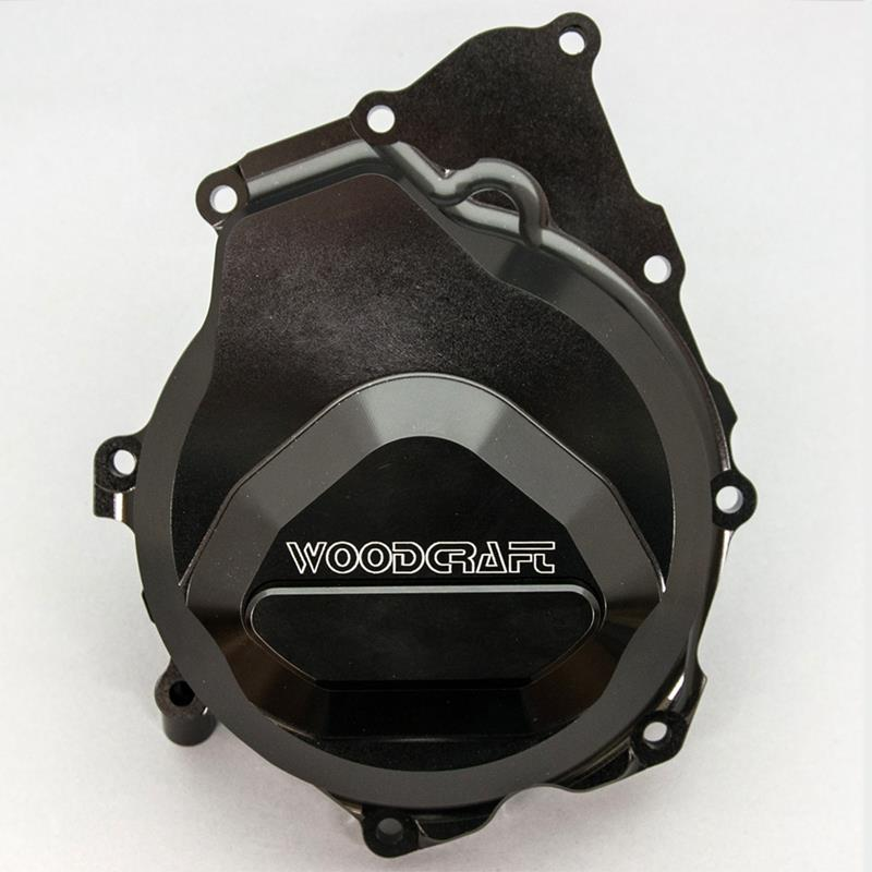WOODCRAFT RACING LHS ENGINE STATOR COVER WITH SKID PAD R6 2006-2018