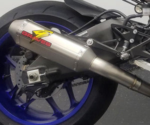 Graves exhaust R1 15-19 Full Titanium Exhaust System with Titanium 265mm Silencer