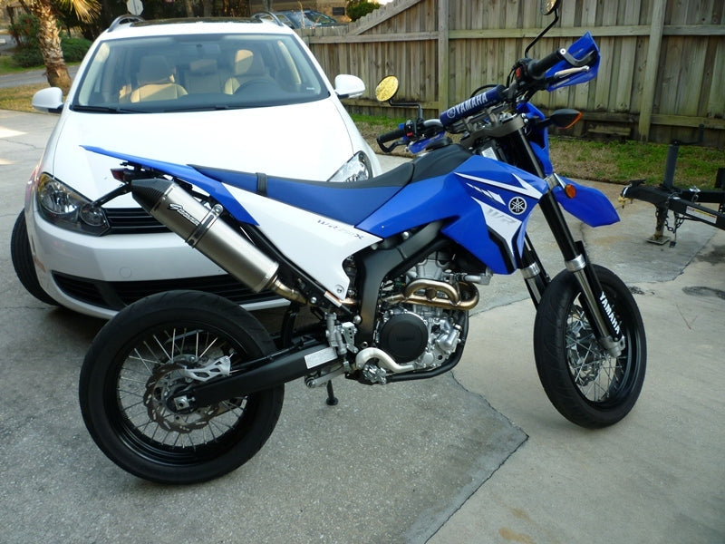 Graves exhaust full system for WR250R + WR250X WORKS