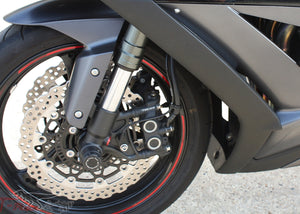 T-rex racing 11-19 Kawasaki ZX-10R No Cut Frame Front & Rear Axle Sliders Case Covers Spools