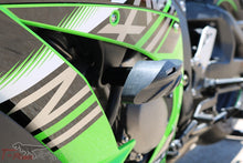 Load image into Gallery viewer, T-rex racing 11-19 Kawasaki ZX-10R No Cut Frame Front & Rear Axle Sliders Case Covers Spools